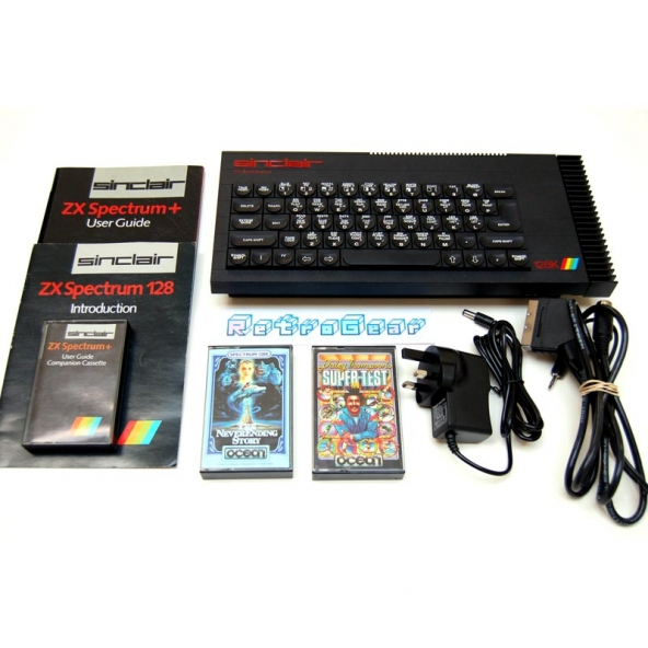 Sinclair ZX Spectrum Plus 128 - 'Toastrack' bundle A - Fully Refurbished 007 012073