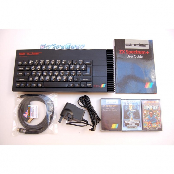 Sinclair ZX Spectrum Plus 128 - 'Toastrack' bundle - Fully Refurbished A 108 055269