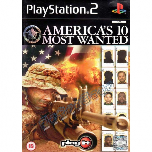 Americas 10 Most Wanted (later cover)