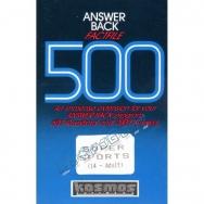 Answer Back Factfile 500 Super Sports