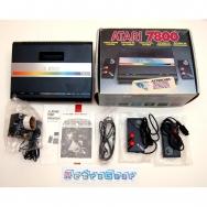 Atari 7800 - boxed complete