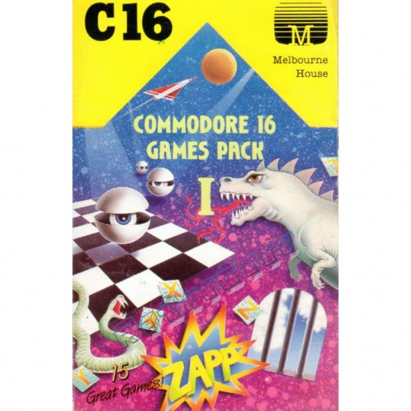 Commodore 16 Games Pack 1