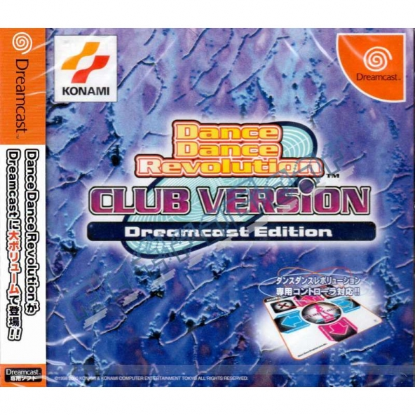 Dance Dance Revolution Club Version (sealed - JP NTSC)
