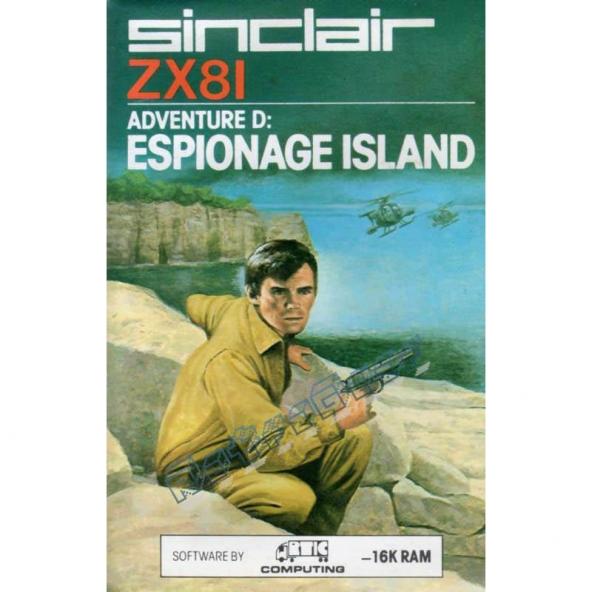 Adventure D: Espionage Island (G21)