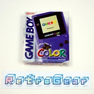 Game Boy Color - Grape - Boxed Complete
