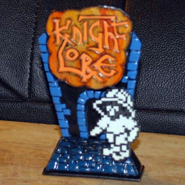 Knight Lore Tribute (design A)