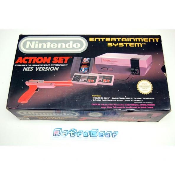 Nintendo NES Action Set - boxed