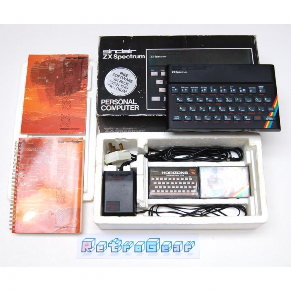 Sinclair ZX Spectrum 48K Boxed - Issue 3B - Samsung board - Fully Refurbished S01-018834