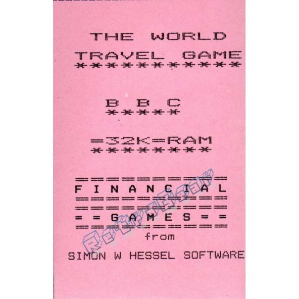 The World Travel Game