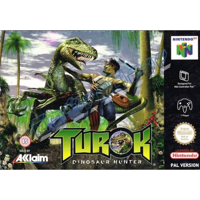 turok dinosaur hunter retro games vintage consoles sega